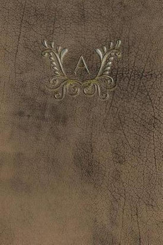 Monogram A Notebook
