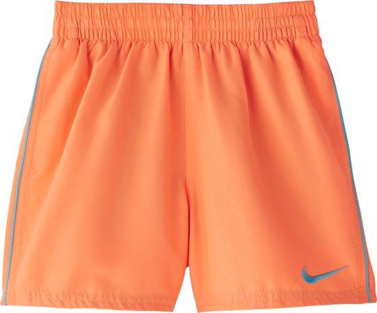 Nike Swim 4 Volley Short Jongens Zwembroek - Orange Pulse - Maat 164