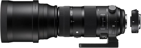 Sigma 150-600mm f/5-6.3 DG OS HSM S Nikon + TC-1401 1.4x