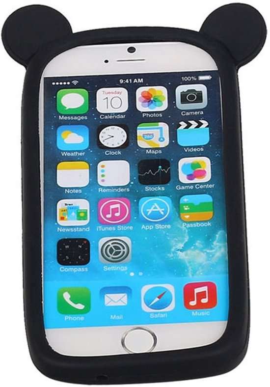 Zwart Bumper Beer Medium Frame Case Hoesje voor HTC Desire 10 Lifestyle