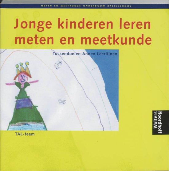 Boek cover Jonge kinderen leren meten en meetkunde Onderbouw basisschool van Div (Paperback)