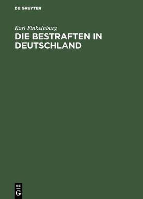 Die Bestraften in Deutschland