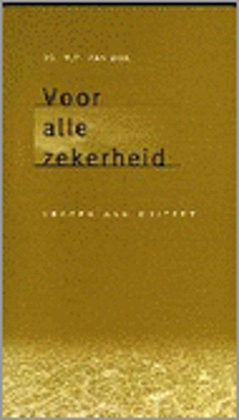 VOOR ALLE ZEKERHEID - M. van Dijk pdf epub