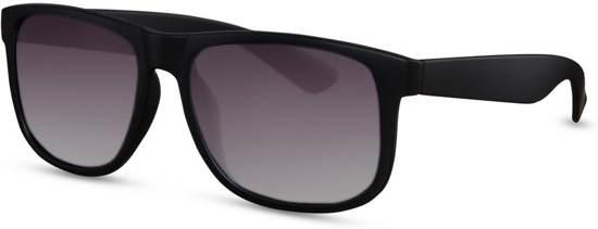 8ac808711475f2 Cheapass Zonnebrillen - Wayfarer zonnebril - Goedkope zonnebril - Trendy -  Zwart