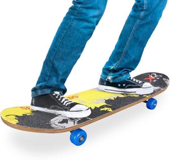 a50cccc192e bol.com   Houten Skateboard (4 wielen)