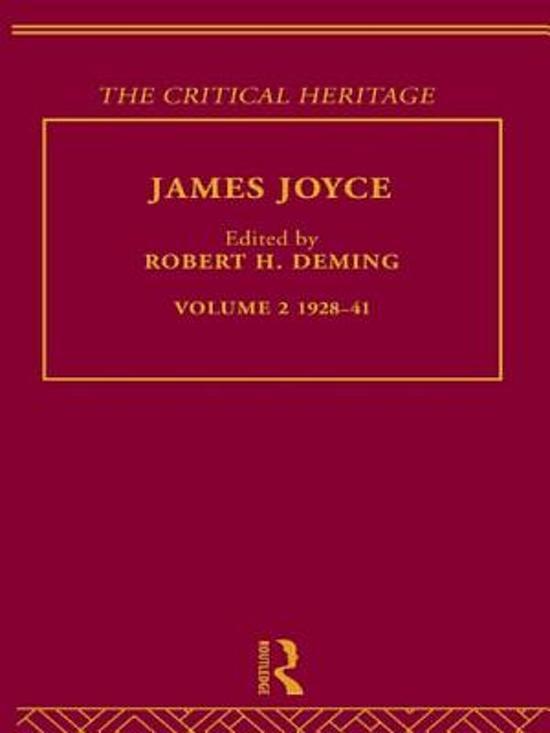James Joyce. Volume 2