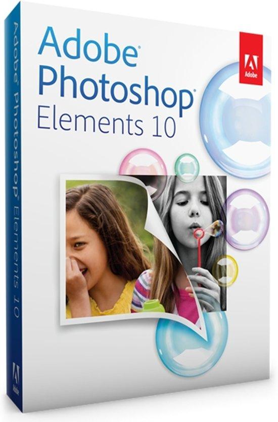 Adobe Photoshop Elements 10 - Nederlands / WIN / 1 licentie