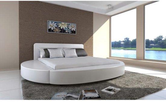vidaxl bed cerchio 180 x 200 cm wit. Black Bedroom Furniture Sets. Home Design Ideas