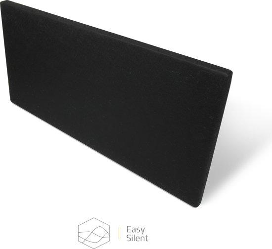 8 x Akoestisch paneel zwart (90 x 45 x 4 cm)