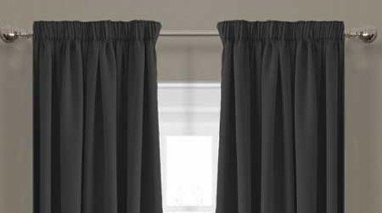 bol.com | Luxe verduisterende gordijnen - 150x250 cm - haken ...