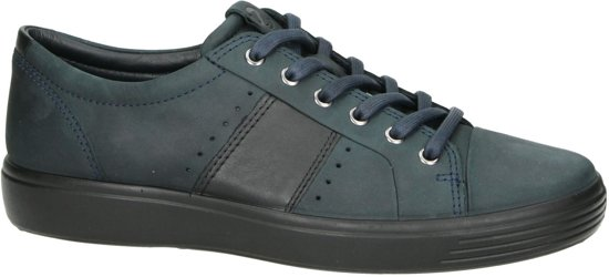 | Ecco Soft 7 heren sneaker Blue Maat 43