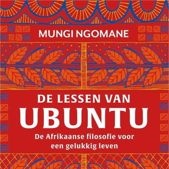 Boek cover De lessen van Ubuntu van Mungi Ngomane (Onbekend)