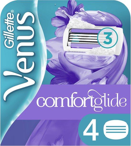 Gillette Venus ComfortGlide Breeze Scheermesjes - 4 stuks