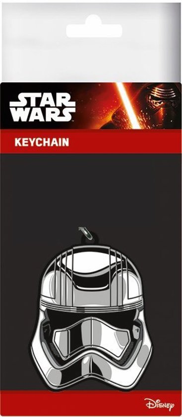 STAR WARS 7 - Rubber sleutelhanger - Captain Phasma 6 Cm