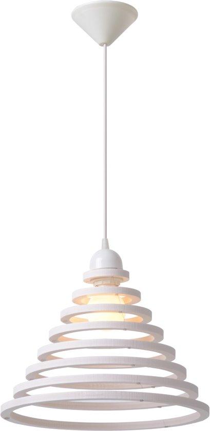 Lucide TORA - Hanglamp - Ø 35 cm - Wit