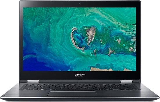 Acer Spin 3 SP314-51-35K4 Grijs Hybride (2-in-1) 35,6 cm (14'') 1920 x 1080 Pixels Touchscreen Intel® 8ste generatie Core™ i3 4 GB DDR4-SDRAM 128 GB SSD Windows 10 Home S