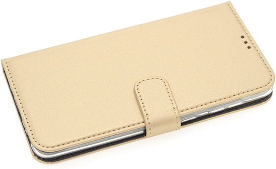 Book Case voor Samsung Galaxy A50 - Goud