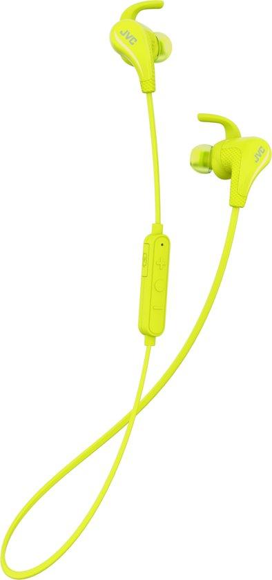 JVC HA-ET50BTYE - Bluetooth sportshoofdtelefoon - Geel