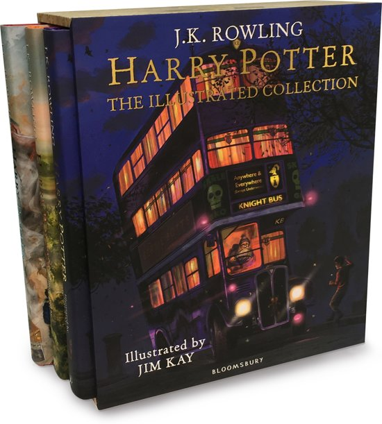 Harry potter the illustrated collection: three magical classics