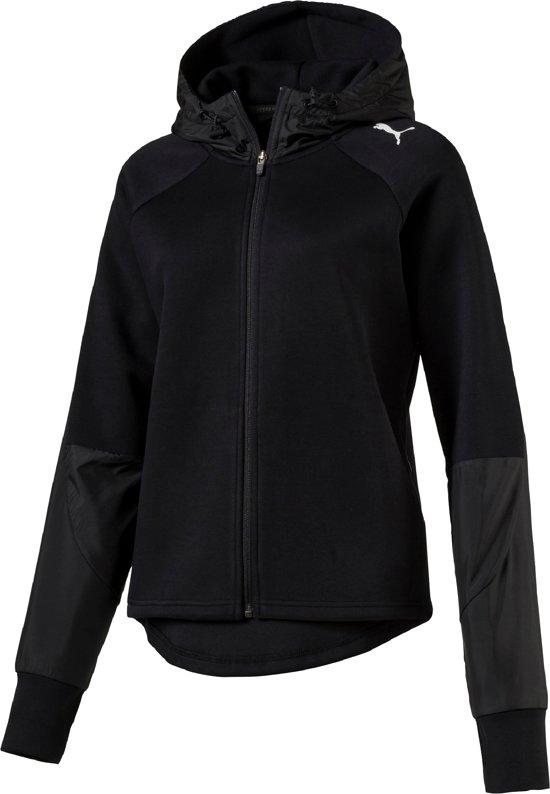 425fb7f7 bol.com | PUMA EVOSTRIPE FZ Jacket Hoodie Dames - Black