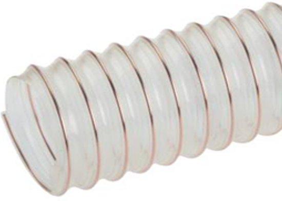 Antistatische PUR druk- en zuigslang 200 mm  (ID) 140 mm (BR) 1 m - HL-PUR-L-200