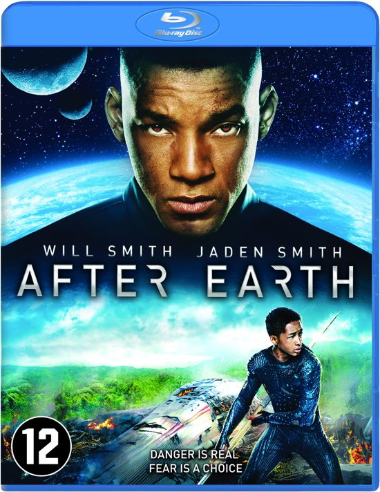 DVD cover van After Earth