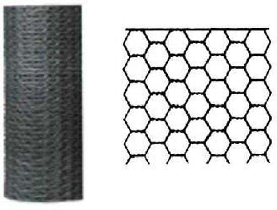 Betafence zeskantgaas verzinkt 50 cm x 10 m maas 13 mm
