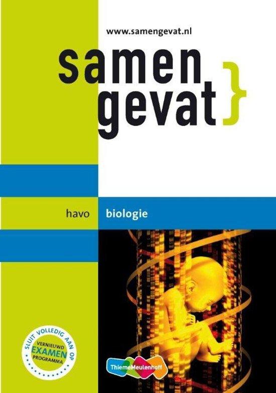Boek cover Samengevat - havo Biologie van E.J. van der Schoot (Paperback)