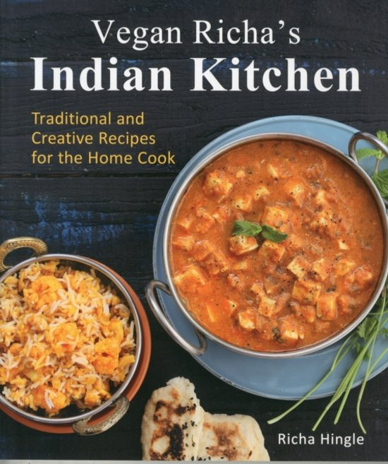 Boek cover Vegan richas indian kitchen van Richa Hingle (Paperback)