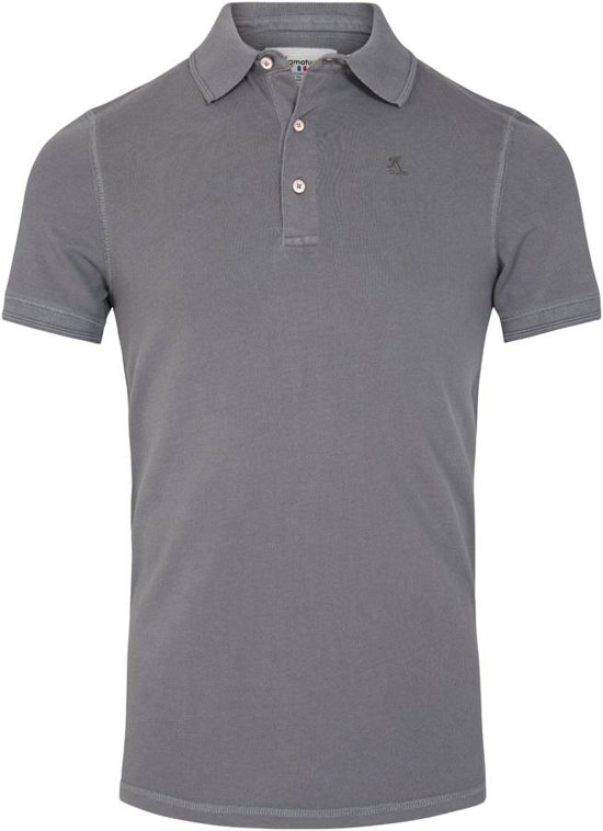 Ramatuelle Polo Heren - South Beach Polo Smoked Pearl - Maat L