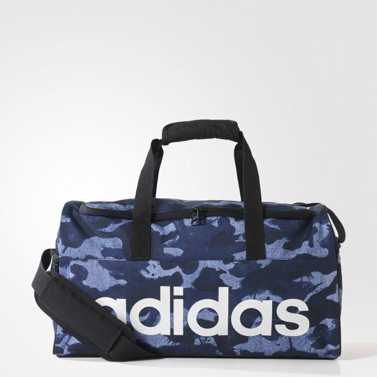 b63de09634e adidas Linear Performance Teambag Graphic S S99958-Sporttas-Unisex-Maat S  Blauw