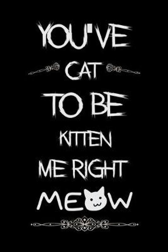 You've cat to be kitten me right Meow: Cat lovers Prayer Journal, My daily prayer journal, Keeping a prayer journal with 100 pages, Awesome Prayer jou