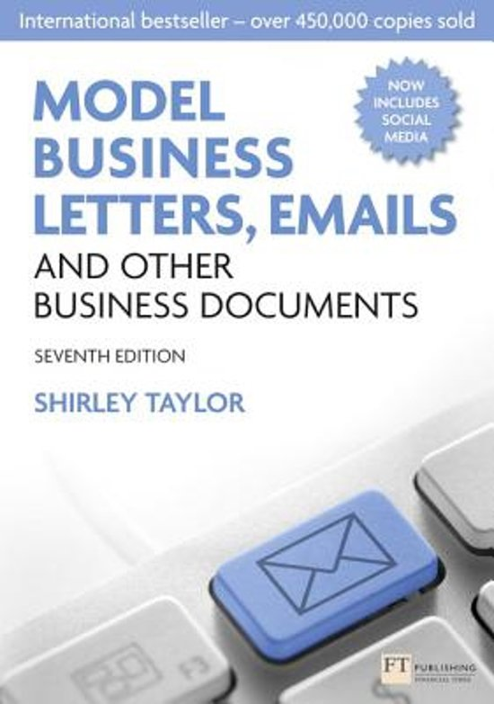 Bol Model Business Letters Emails And Other Business