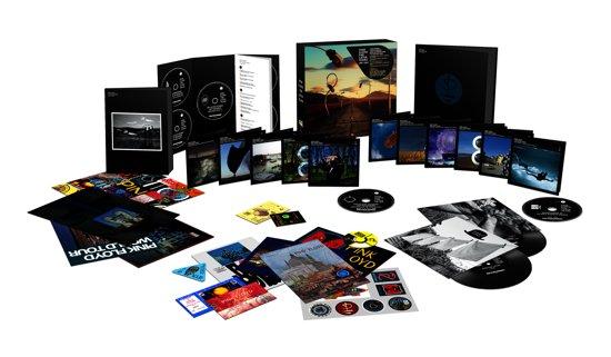 CD cover van The Later Years 1987 - 2019 van Pink Floyd