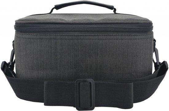 Toiletbag XL / XXL Toilettas - Ophangen - Maat XL / XXL ophangbare make up tas - 5 vakken zelf in te delen - reistas- hangend 5L - 5 liter, grijs , merk i12Cover