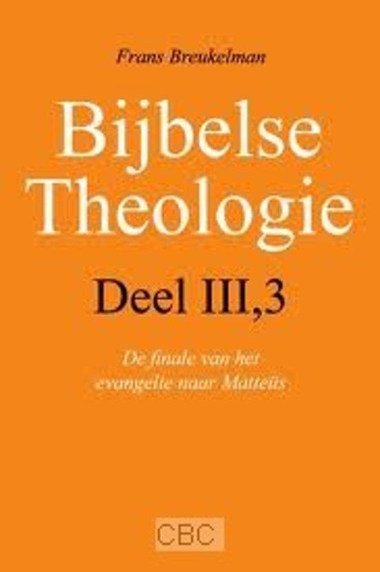 Bolcom Breukelman Bijbelse Theologie Iii 3 Frans Hendrik