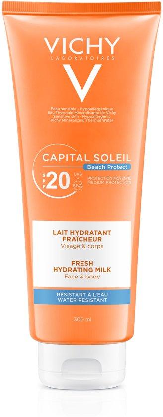 Vichy Idéal Soleil Hydraterende melk voor gezicht en lichaam - SPF 20 - 300 ml