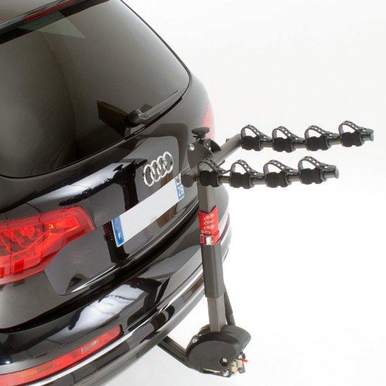 mottez fietsendrager voor 4 fietsen kantelbaar. Black Bedroom Furniture Sets. Home Design Ideas