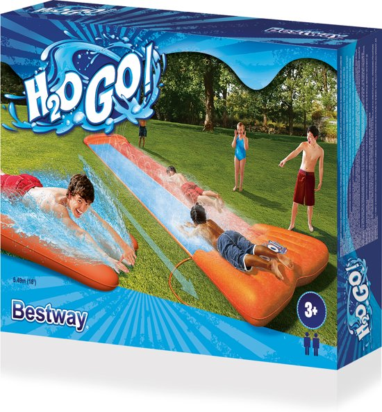 Bestway Waterglijbaan Double Slider