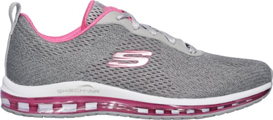 Skechers Skech Air Element Cinema Sneakers Dames Grey Hot Pink Maat 39