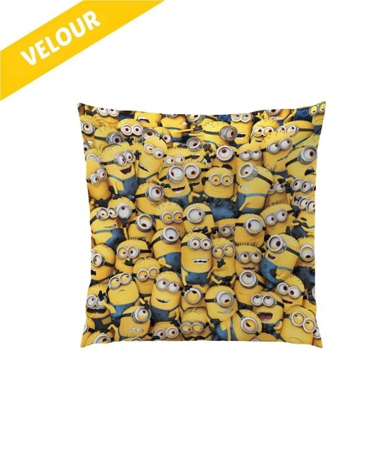 Minions Kussen - geel - Maat One-size