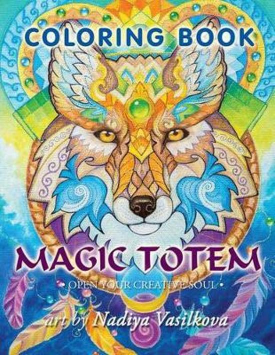 Magic Totem Coloring Book for Grown Ups