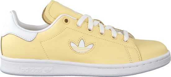 adidas originals stan smith geel