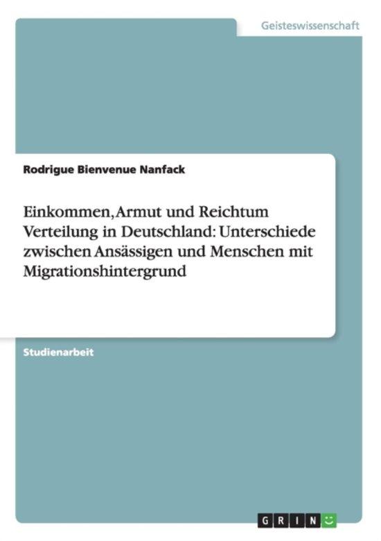 Einkommen, Armut Und Reichtum Verteilung in Deutschland