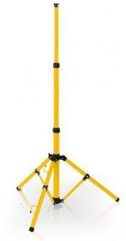 Uitschufbaar statief 1 voudig t.b.v. led bouwlampen max. 1x30Watt