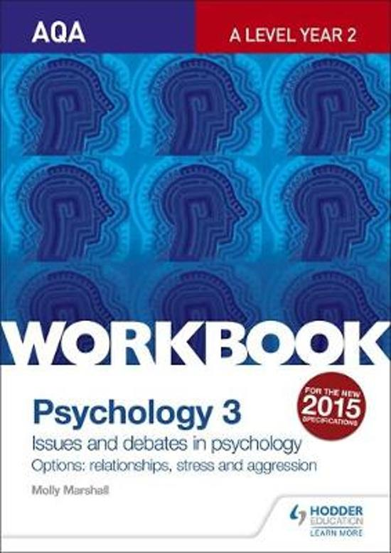 AQA Psychology for A Level Workbook 3