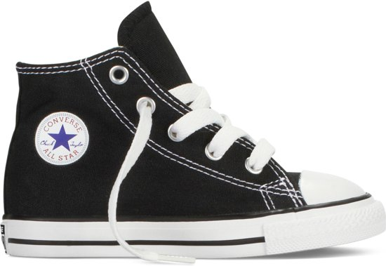 298dcfb0afad0 Converse Chuck Taylor All Star Hi Sneakers - Maat 24 - Unisex - zwart wit