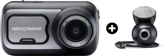 Nextbase - dashcam - 422GW + Rearwindow camera - zwart