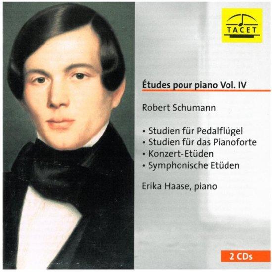 Schumann: Etudes Pour Piano Vol-4