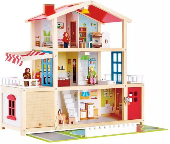 Hape Family Mansion Poppenhuis
